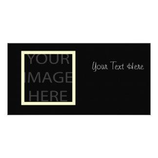 Plain Photocards template, fully customizable Photo Cards