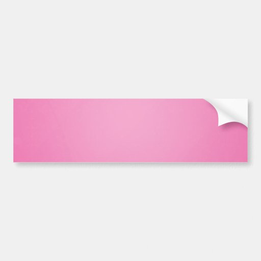 Plain pinkish texture holiday gift bumper sticker