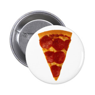Plain Pizza 6 Cm Round Badge