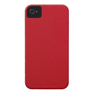 Plain Red Color iPhone 4 Case-Mate Case