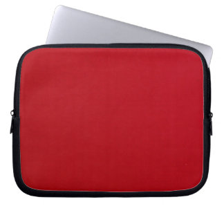 Plain Red Color Laptop Sleeve