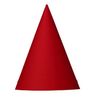Plain Red Color Party Hat