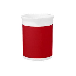 Plain Red Color Pitcher