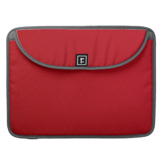 Plain Red Color Sleeve For MacBooks