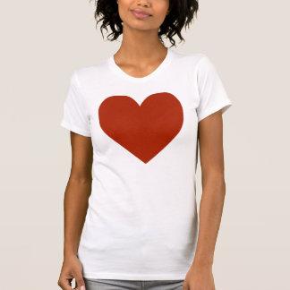 Plain Red Heart T-Shirt