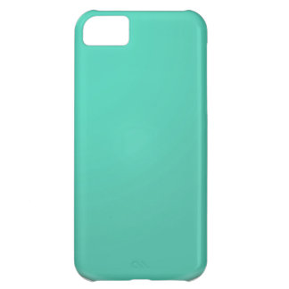 Plain Shades of Green: Add text or image iPhone 5C Case