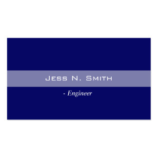 Plain simple elegant blue business card business card templates