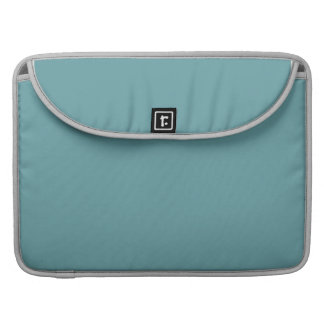 Plain Teal Sleeve For MacBooks