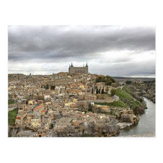 Plain Toledo, Spain, Rio Tajo Castile–La Mancha Postcard