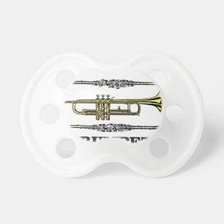 plain trumpet pacifier