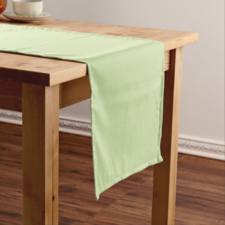 Plain Watermelon Green table runner