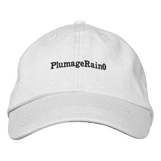 Plain whate hat