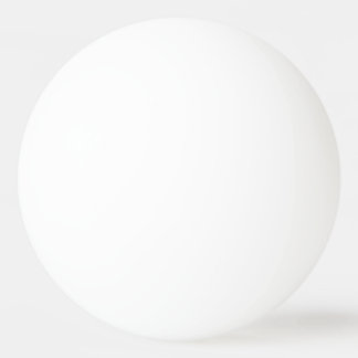 Plain White Background No Image Customize Simple Ping-Pong Ball