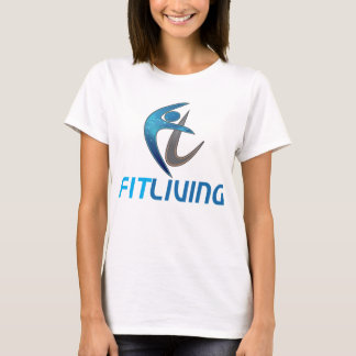 Plain white Fit Living tee