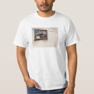 Plain White T-shirt Window
