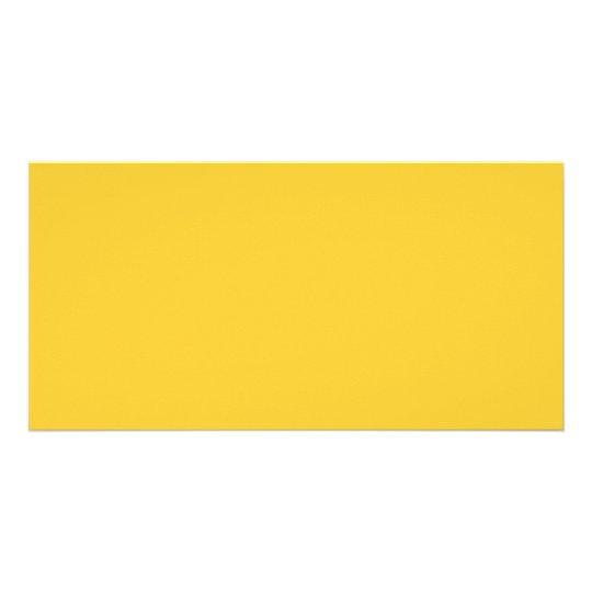 Plain Yellow Background. Card