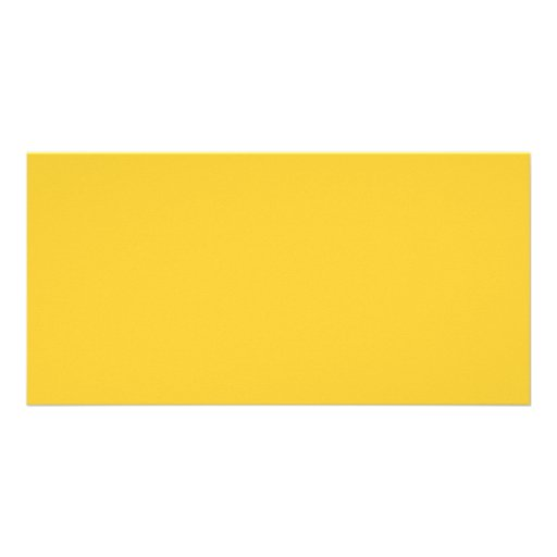 Plain Yellow Background. Photo Cards