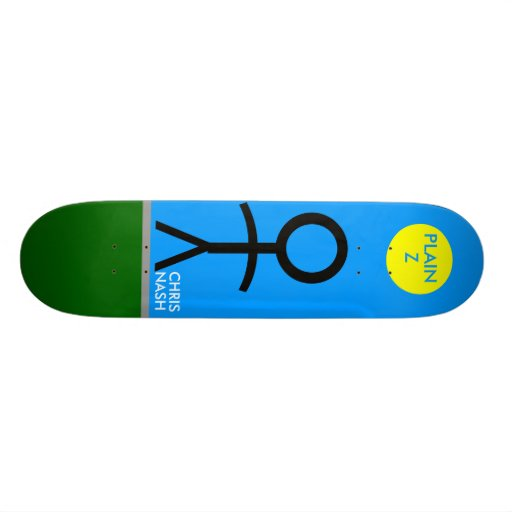 ''PLAIN Z'' NASH COLLECTION SKATE DECK