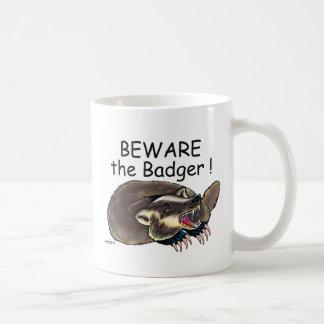 PlainBadger_black Coffee Mug