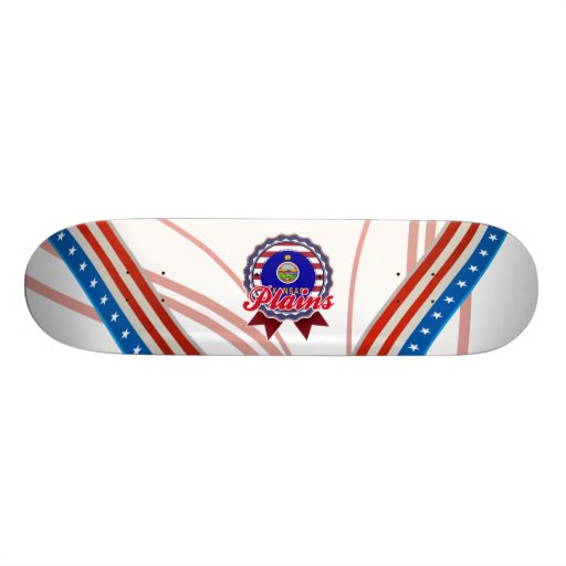 Plains, KS Skate Board Deck