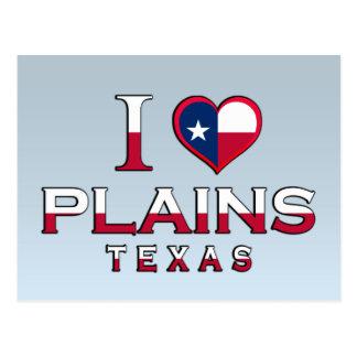 Plains, Texas Postcard