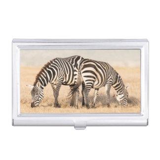 Plains Zebra Or Common Zebra (Equus Quagga) 2 Case For Business Cards