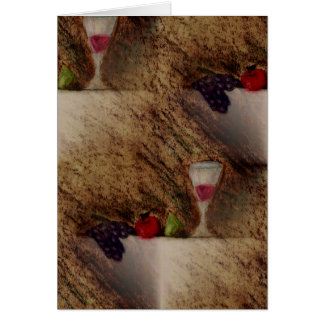 Plaisirs Fruits multiple products Greeting Card