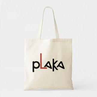 Plaka Logo Tote Bag