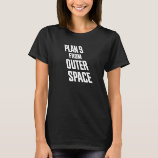 Plan 9 From Outer Space ladies logo tee