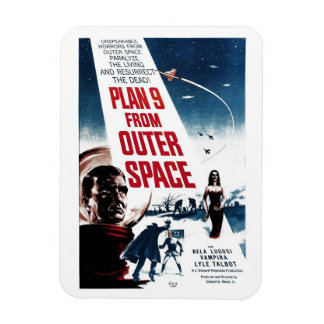 """""""Plan 9 From Outer Space"""" Magnet"""
