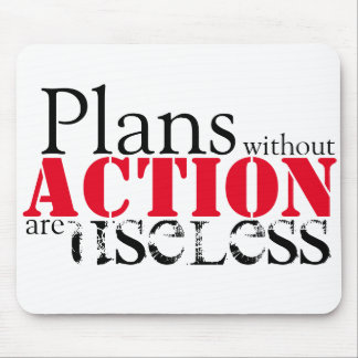 Plan Action Mousepad