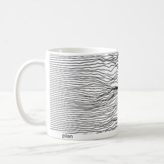 plan and reality coffee mug