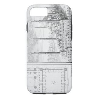 Plan and View of the Blue Mosque (1609-16), built iPhone 7 Case