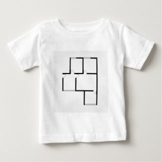 Plan of a small house baby T-Shirt