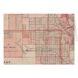 Plan of Council Bluffs, Pottawattamie Co Card