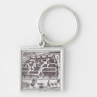 Plan of Moscow, 1628 Key Chains