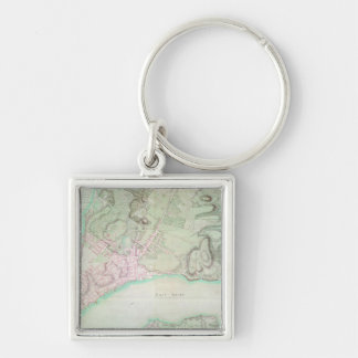 Plan of New York, 1776 Key Ring