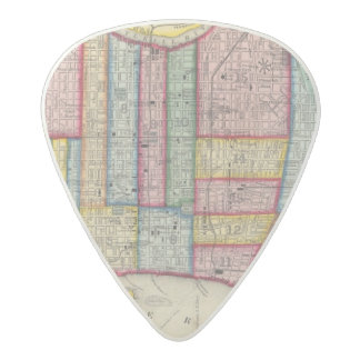 Plan Of Philadelphia Acetal Guitar Pick