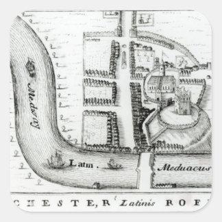Plan of Rochester Sticker