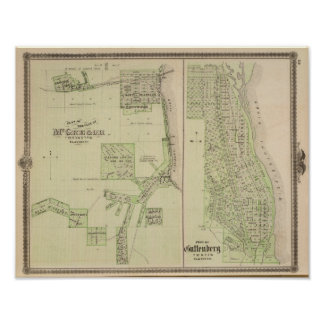 Plan of the City of McGregor Posters