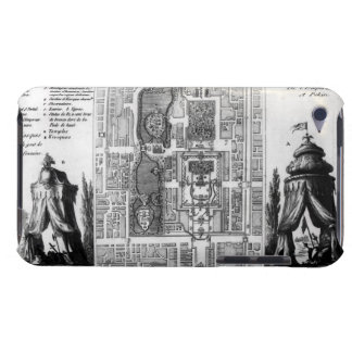Plan of the Gardens of the Emperor of Peking, from Case-Mate iPod Touch Case