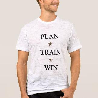 Plan Train Win T-Shirt