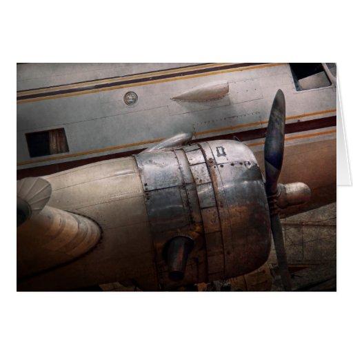 Plane - A little rough around the edges Card