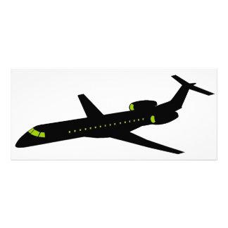 Plane - Avion 03 Motif Pour Double Carte