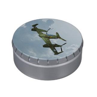Plane Candy Tins