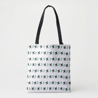 Plane - Cloud Tote Bag
