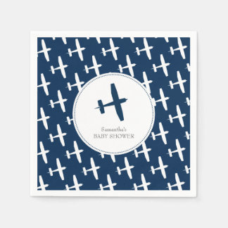 Plane ı Party Napkins Paper Serviettes
