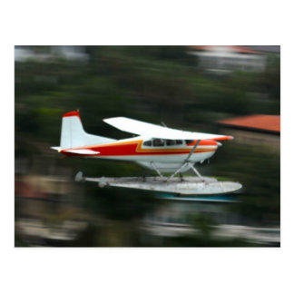 Plane in Motion photo Postcard