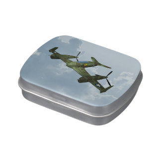 Plane Jelly Belly Tins
