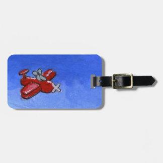 Plane Mouse Bag Tag